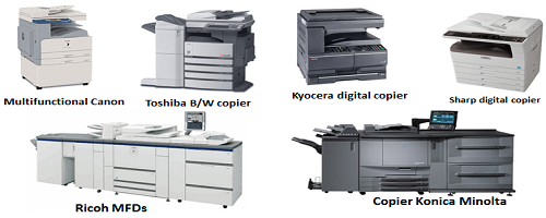 photocopier on rent
